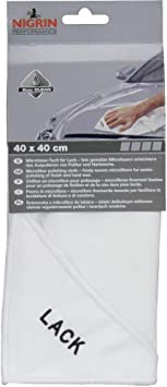 Nigrin 71121 Microfasertuch Lack 40 x 40 cm