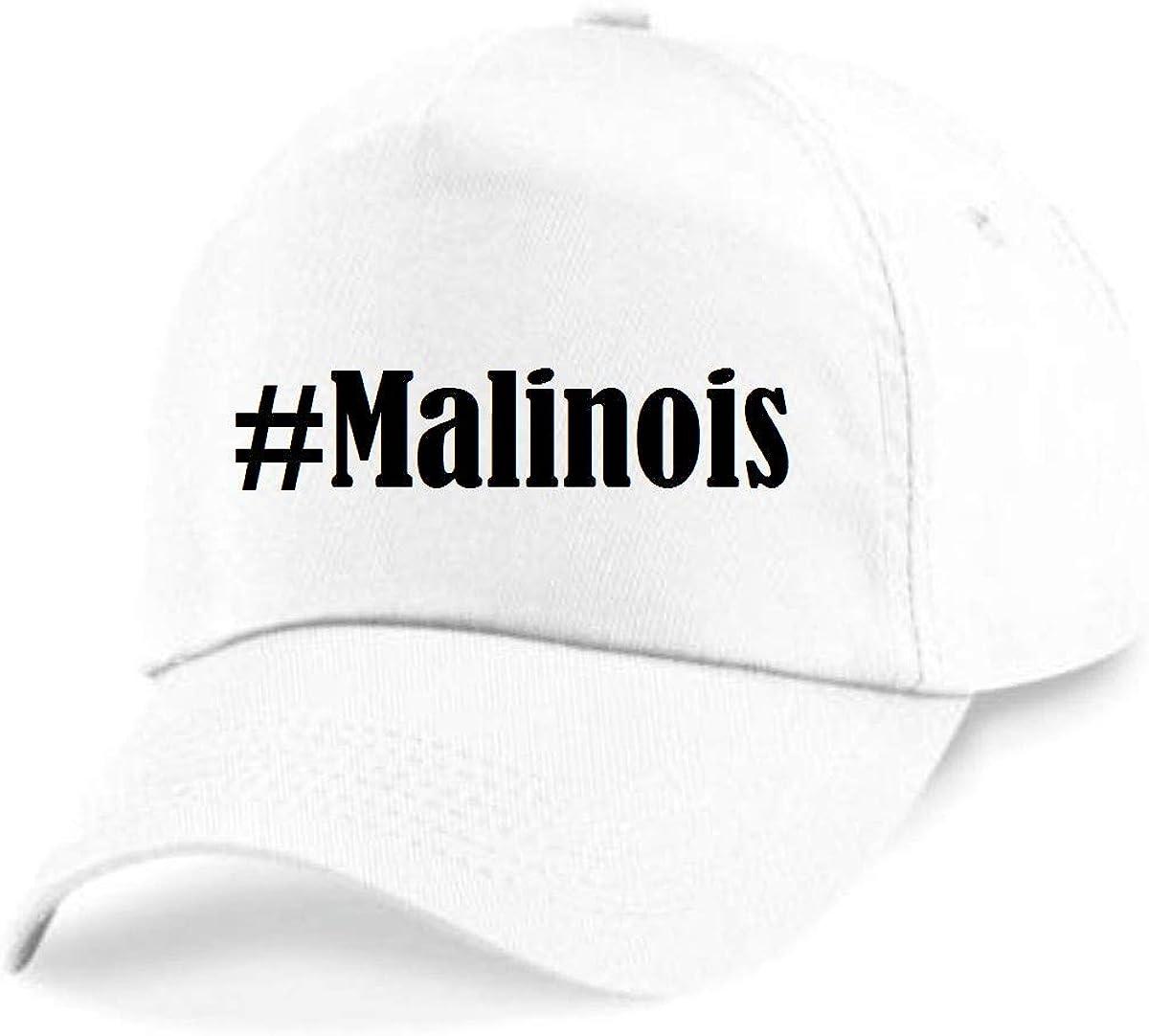 Casquettes de Baseball #Malinois Hashtag Diamant Social Network Basecap pour Les Hommes Femmes Gar/çon /& Fille en Noir