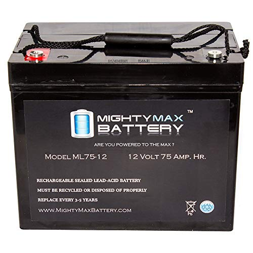- Mighty Max Battery 12V 75Ah Internal Thread Replacement Battery for Meyra Orthocar 315 Brand Product