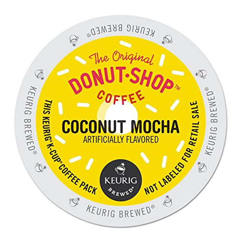 The Original Donut Shop Coconut Mocha Keurig Single-Serve K-Cup Pods, Medium Roast Coffee, 24 Count