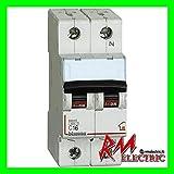 BTicino FC810NC16 Interruttore Magnetotermico, C16 1P+N 2M 4500A, 16A