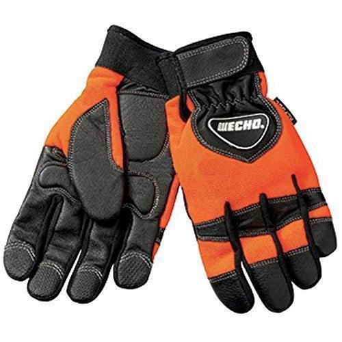 Echo 99988801602 New OEM X-Large Chainsaw Kevlar Reinforced Protective Gloves + FREE EBOOK - YOUR LAWN & LAWN CARE -