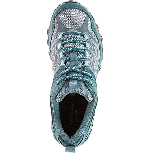 Merrell Moab Fst Gtx, Zapatillas de Senderismo para Mujer Azul (Sea Pine)