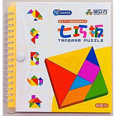 Bambini Colorati Pensando Gioco Tangram Puzzle