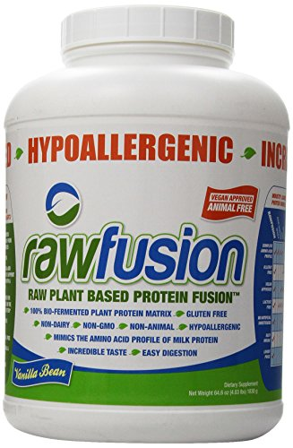 SAN Raw Fusion Supplement, Vanilla Bean, 4.03 Pound (Brown Rice Protein Concentrate compare prices)