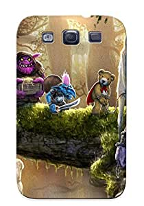 New YTZYE0zRxrw Fantasy Captives Tpu Cover Case For Galaxy S3 - Best Gift Choice For Christmas