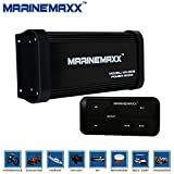 MarineMaxx 500 Watts 4-Channel Class A/B Waterproof Marine Bluetooth Amplifier with Marine Stereo USB MP3 RCA output AUX Input