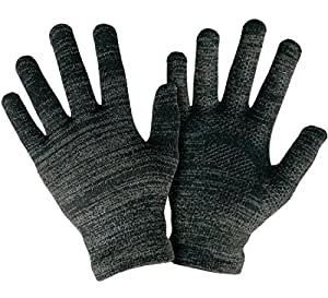 Size Medium - #1 Texting Gloves Women Men Unisex. Top Rated Smart Touch Gloves With Anti-Slip Grip and Full Hand Conductivity. Durable and Thin Form Fit. Black Touch Screen Gloves Men, iPhone Gloves for Women