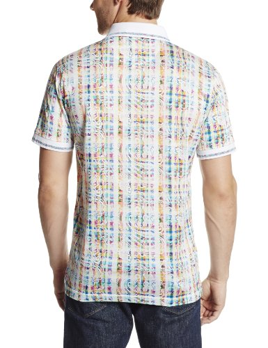 Robert Graham Men's Lookame-Short Sleeve Knit Polo Shirt