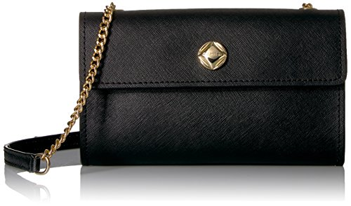 Chain Klein Calvin Key Crossbody Black Item Gold Flap naq6dwqI