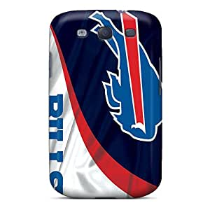 RudyPugh Samsung Galaxy S3 Protective Hard Phone Covers Support Personal Customs Colorful Buffalo Bills Pattern [AEV11079Wlhq]