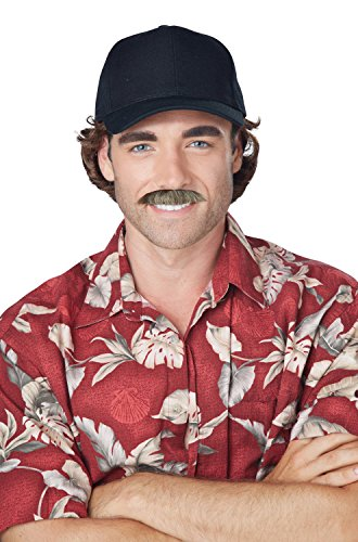 California Costumes Men's the Magnum, Brown/Blonde, One Size (Magnum Pi Halloween Costume)