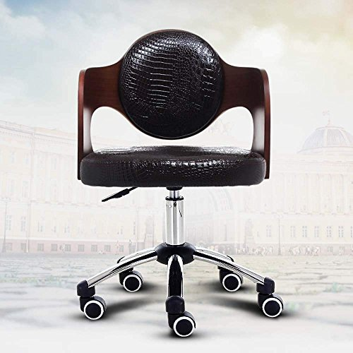 QTQZ Brisk- Can be Raised to Turn The Sofa Base Fashionable Computer Chair Home Chair Conference Chair Swivel Leisure Seat (Color Optional) (Color: 1) (Conference Swivel)