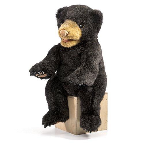 Folkmanis Black Cub Bear Hand Puppet