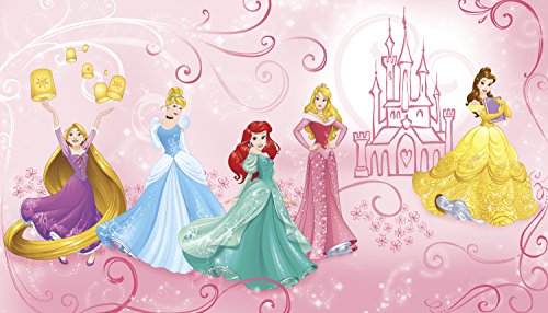 RoomMates Disney Princess Enchanted Prepasted, Removable Wall Mural - 6' X 10.5' by RoomMates (Image #1)