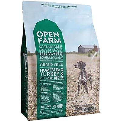 Open Farm Homestead Turkey & Chicken Recipe Sustainable Organic Dog Food (12 lbs)