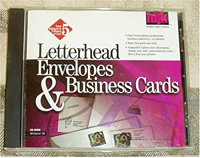 Letterhead Envelopes and Business Cards