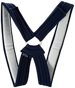 FLA Orthopedics Prolite Deluxe Clavicle Support, Navy, X-Large