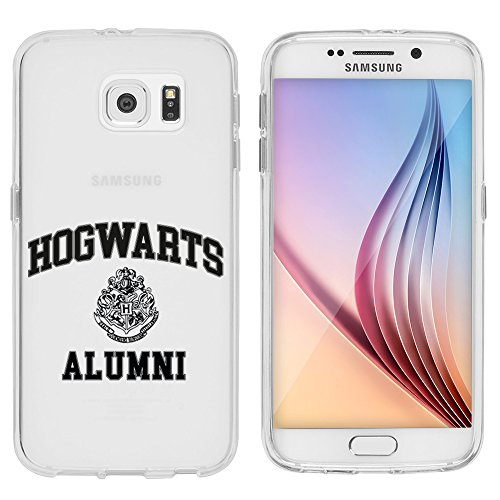 Samsung S6 Caso por licaso® para el patrón de Samsung S6 TPU LeviOsa Mago Magic de silicona ultra-delgada proteger su Samsung S6 es elegante y cubierta regalo de coches Hogwarts Alumni