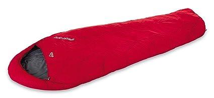 McKinley momia saco de dormir Discovery, derecho, 904 Rojo/Antracita/Gris