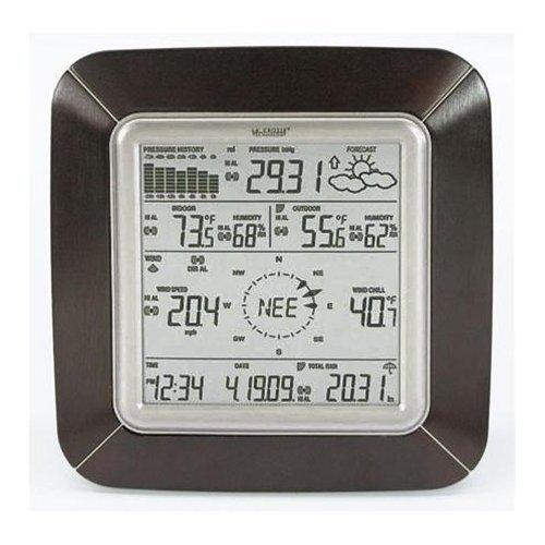 La Crosse Technology WS-2811BRN-IT Professional Weather Center with Solar Wind (Professional Wind Sensor)