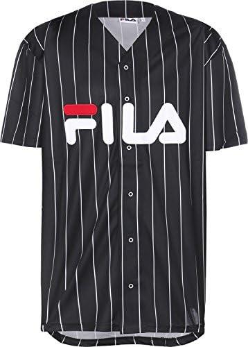 Fila Camisa Manga Corta Dawn Baseball Negro XL (X-Large): Amazon.es: Ropa y accesorios
