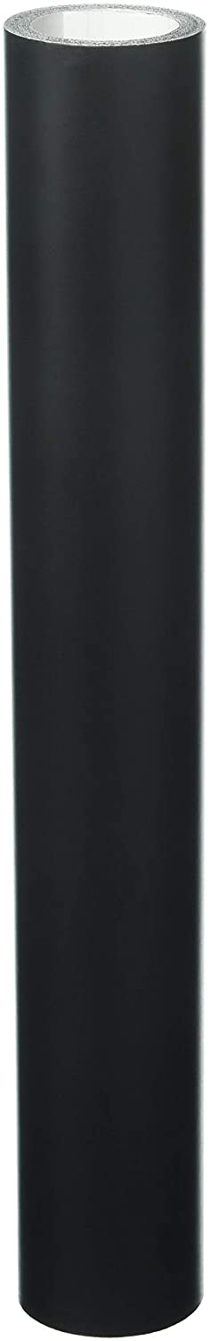 12x10FT Roll of Oracal 651 Matte Black Vinyl for Craft Cutters and Vinyl Sign Cutters