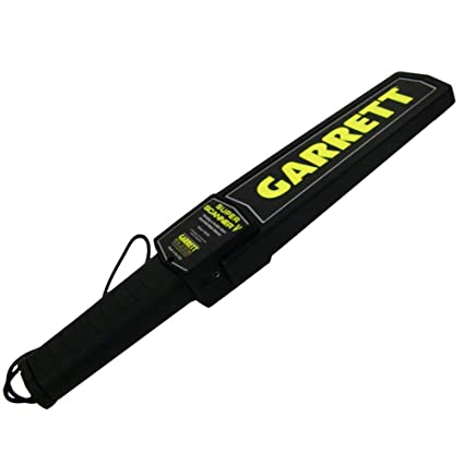 Amazon.com: ASR Tactical Garrett SuperScanner Handheld Security Screening Metal Detector: Sports & Outdoors