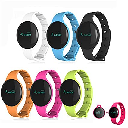Amazon.com: Aenmil Comfortable Smart Wristwatch Bluetooth ...