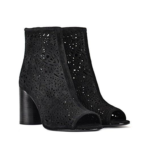 ASH Footwear Schuhe Flirt Stiefeletten Schwarz Damen Black