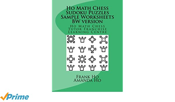 Counting Number worksheets math go worksheets : Ho Math Chess Sudoku Puzzles Sample Worksheets BW version: Frank ...