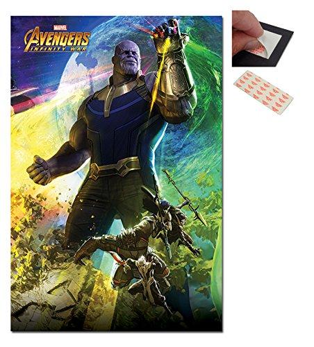Avengers Infinity War Thanos Poster - 91.5 x 61cms