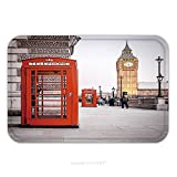 gel kitchen mats uk Flannel Microfiber Non-slip Rubber Backing Soft Absorbent Doormat Mat Rug Carpet A Photography Of A Red Phone Box In London Uk 117704377 for Indoor/Outdoor/Bathroom/Kitchen/Workstations