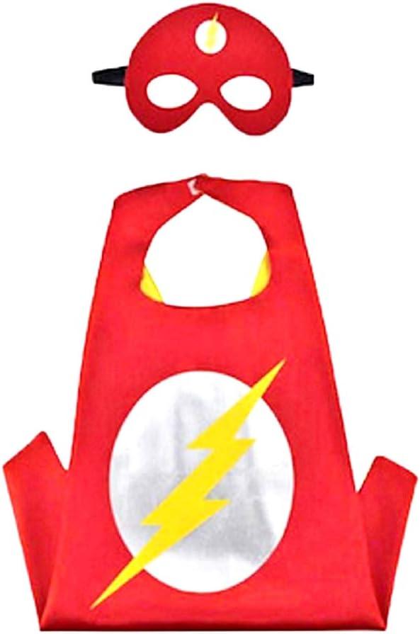 3-6 anni Idea regalo originale Travestimenti per bambini Super eroe Colore blu Halloween Mantello Maschera Bambino Carnevale Costume Capitan America