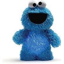 Gund Cookie Monster Glow Pal Night Light Sesame Street Toy Plush