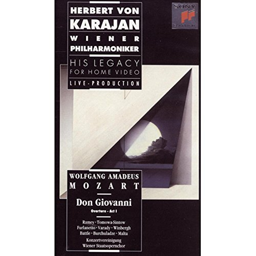 Price comparison product image Herbert Von Karajan - His Legacy for Home Video - Mozart - Don Giovanni