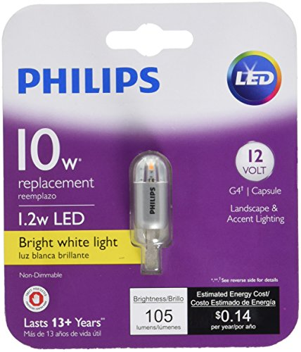 Philips 10 Watt Bi Pin Halogen Landscape Light Bulb in US - 8