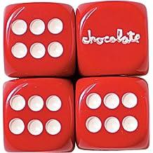 Chocolate Custom Chunk Rolling Dice Set BRS