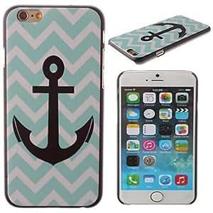 ZXM- el marinero ancla patrón pc cubierta dura para el iphone 6 más