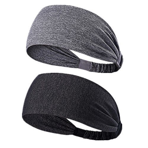 Plus Accessory Outfit - Sweatbands Moisture Wicking Headbands Soft, Breathable and Stretchy for Yoga,Cycling,Running,Fitness Exercise and other sports activities