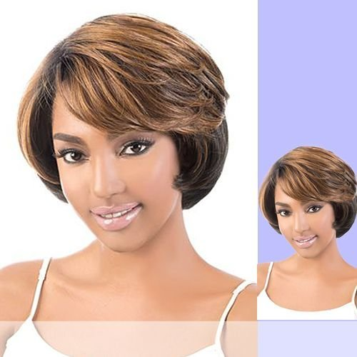 (Motown Tress Synthetic Deep Part Lace Wig - LDP Annie-1B)