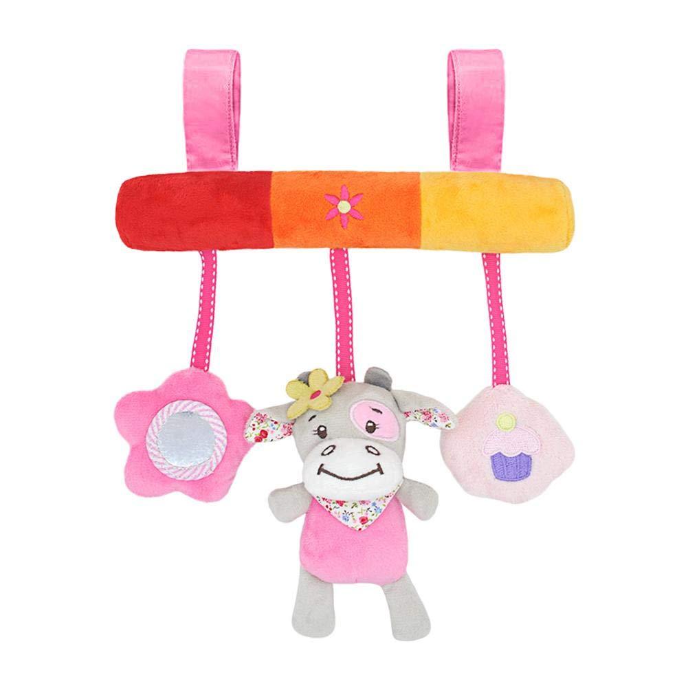 Kinderwagenkette niedlichen Figuren zum Aufh/ängen an Kinderwagen Monaten Babyschale oder Kinderbett F/ür Babys und Kleinkinder ab 0