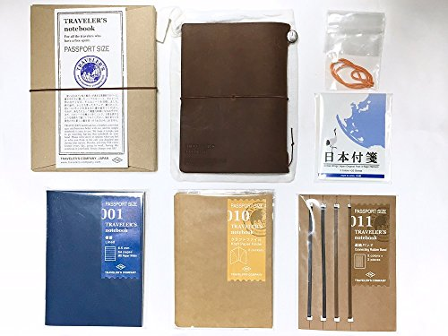 midori-travelers-notebook-value-set-leather-notebook-brown-journal-passport-size-001-ruled-line-010-