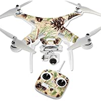 Skin For DJI Phantom 3 Standard – Pine Collage | MightySkins Protective, Durable, and Unique Vinyl Decal wrap cover | Easy To Apply, Remove, and Change Styles | Made in the USA