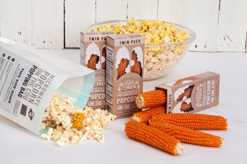 MICROWAVE POPCORN ON THE COB TWIN PACK VINTAGE 2-2.5oz