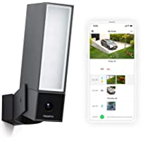 Netatmo Smart Outdoor Security Camera, WiFi, Integrated Floodlight, Movement Detection, Night Vision, Without Fees…