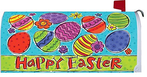 Easter Eggs Magnetic Mailbox Cover Easter Eggs Mailbox Cover