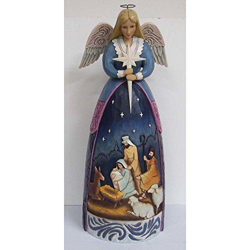 Enesco Jim Shore Heartwood Creek Nativity Angel Statue