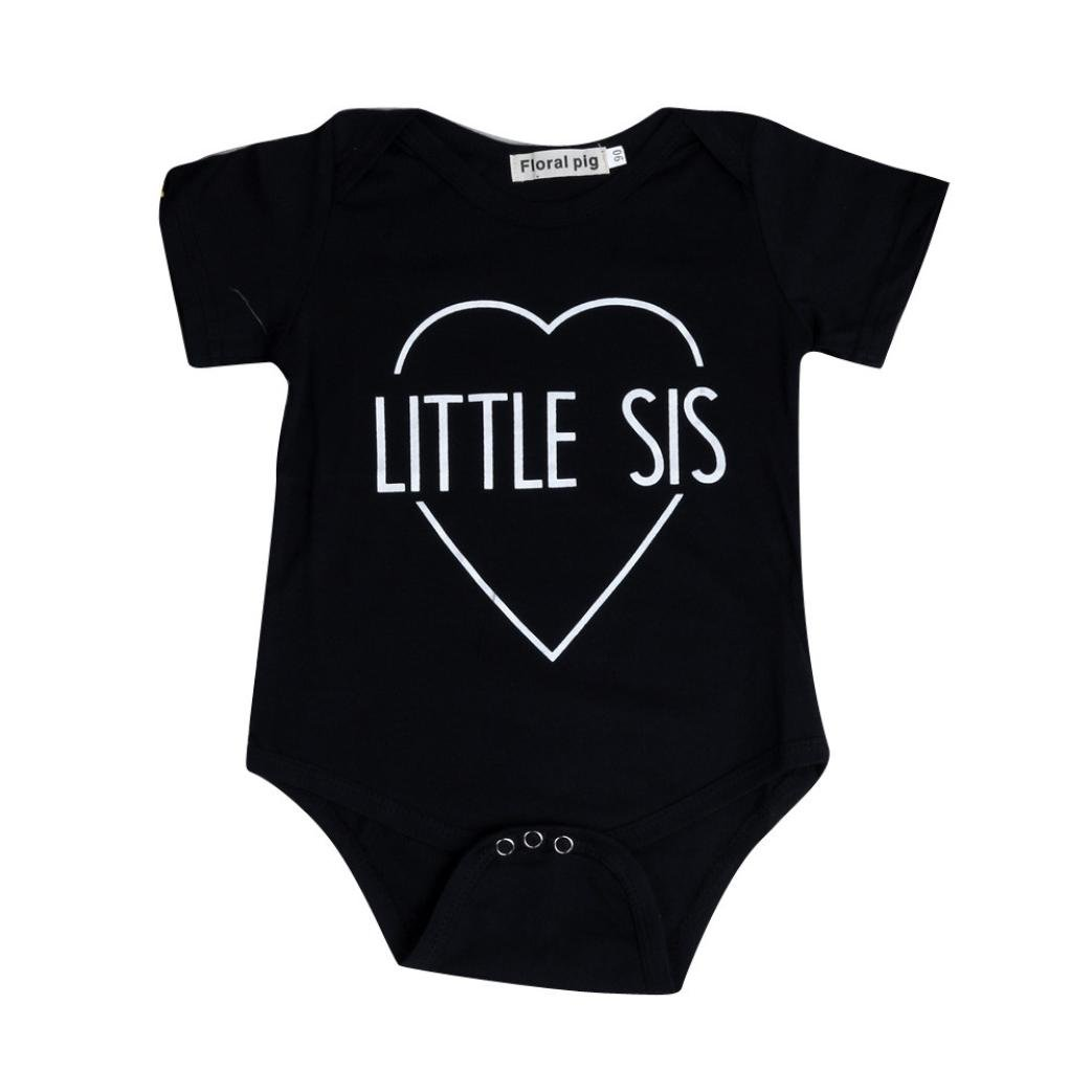 Clode® Family Clothes, Children Kid Family Fitted Letter Printing T-Shirt Tops Clothing Romper Bodysuit Shirt Clode-T70987