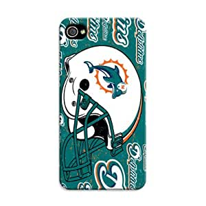 iphone 5c Protective Case,Fashion Popular Miami Dolphins Designed iphone 5c Hard Case/Nfl Hard Case Cover Skin for iphone 5c